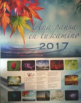 Calendario 2017 Una Pausa En Tu Camino [Calendario]