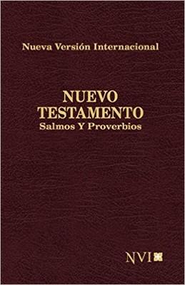Nuevo Testamento NVI con Salmos Y Proverbios (Imitación Piel Flex) [Biblia de Bolsillo]