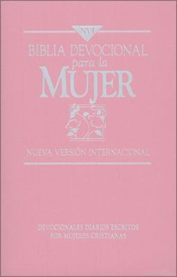 Biblia NVI Devocional Para La Mujer (Imitación Piel Rosa) [Biblia]
