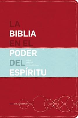 Biblia NVI En El Poder Del Espíritu (Imitación Piel Rojo) [Biblia]
