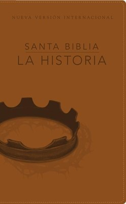 Biblia La Historia NVI (Piel Italiana Café ) [Biblia]