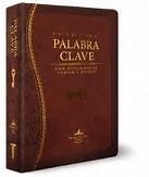 Biblia de estudio Palabra Clave (Tapa piel especial marrón)