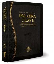 Biblia de estudio Palabra Clave (Tapa Piel Especial Negro) [Biblia de Estudio]