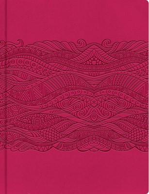 Biblia de Apuntes Fucsia (simil piel)