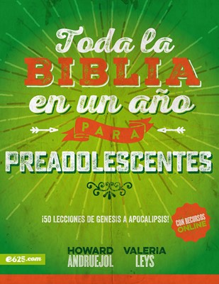 Toda La Biblia En Un Año Preadolescentes (Rústica)