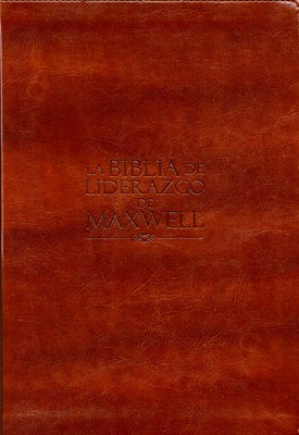 Biblia De Liderazgo Maxwell Piel NVI (Piel) [Biblia]