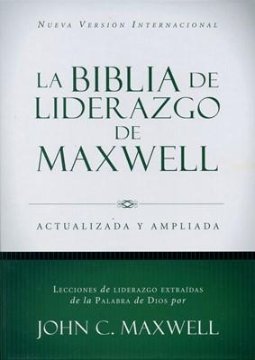 Biblia de Liderazgo de Maxwell Actualizada y Ampliada NVI (Tapa dura) [Biblia]
