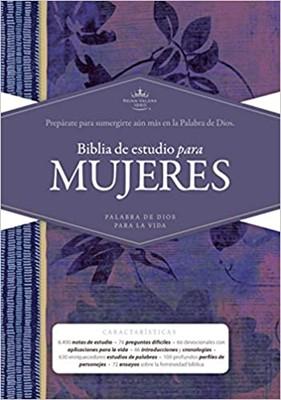Biblia RVR60 Estudio Mujeres TD (Tapa Dura)