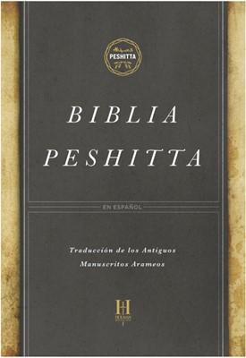 Biblia Peshitta Negro imitación piel (Tapa Imitación Piel Negro)