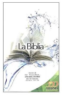 Biblia Misionera 500 Razones Para Celebrar (Rústica)