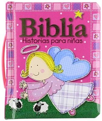 Biblia Historias Para Niñas/Con Manijita (Tapa Dura) [Libro]