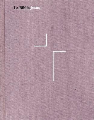 La Biblia Jesús NVI Lavanda (Tapa Dura - Tela) [Biblia de Estudio]