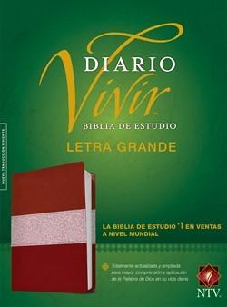 Biblia de estudio del diario vivir NTV, letra grande [Biblia de Estudio]