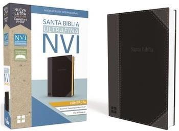 Biblia Ultrafina Compacta Negra (Imitación Piel) [Biblia de Bolsillo]
