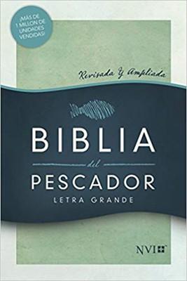 NVI Biblia del Pescador Letra Grande (Tapa dura) [Biblia]