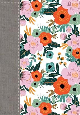 Biblia De La Mujer Conforme Al Corazón Edición Limitada Flores (Tapa simil piel floral) [Biblia de Estudio]