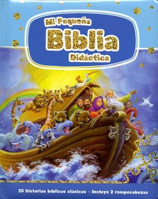 Mi Pequeña Biblia Didáctica (Tapa dura acolchada) [Biblia]