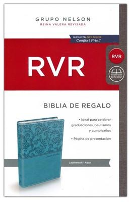 Biblia Rvr Regalo Aqua Ls (Imitación Piel) [Biblia]