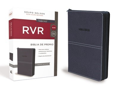 Biblia RVR Regalo Purple W Zip (Leathersoft)
