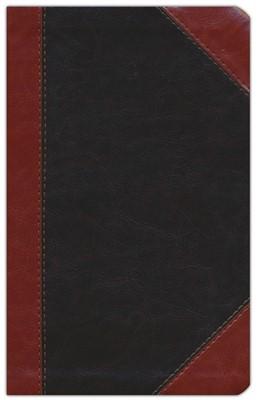 SANTA BIBLIA REINA VALERA REVISADA (RVR) ULTRAFINA, CAFÉ CLÁSICA (Leathersoft)