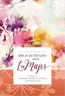 Biblia de Estudio para la Mujer NVI, Tapa Dura (Tapa Dura) [Biblia de Estudio]