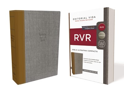 RVR Santa Biblia Ultrafina Compacta, Tapa Dura / Tela (Tapa Dura - Tela) [Biblia de Bolsillo]