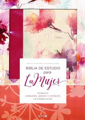 Biblia de Estudio para la Mujer NVI, Leathersoft