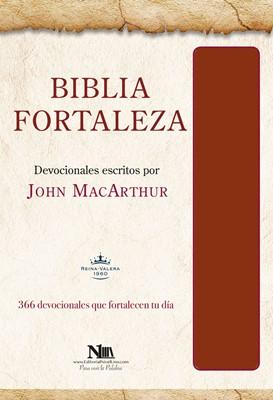 Biblia Fortaleza - Marron (Tapa imitación piel marrón) [Bíblia]