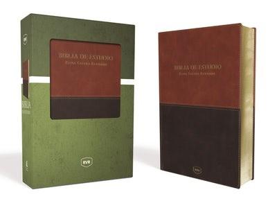 Biblia de Estudio Reina Valera Revisada (Imitación Piel) [Biblia de Estudio]