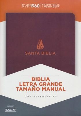 Biblia RVR60 LG Manual Piel Fab Marron