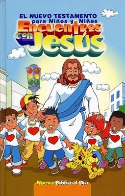 El Nuevo Testamento Encuentros con Jesús NBD (Tapa Dura) [Biblia]