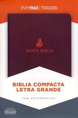 Biblia RVR60 LGi Compacta Piel Fab Marron (Piel fabricada)