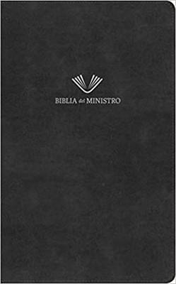 RVR 1960 BIBLIA DEL MINISTRO (Negro Piel Fabricada )