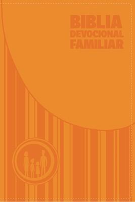 Biblia Devocional Familiar (Simi piel naranja) [Biblia]