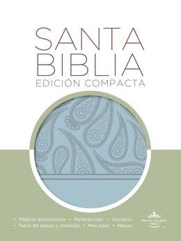 Biblia RVR 1960 compacta aguamarina (Imitacion Piel ) [Biblia de Bolsillo]