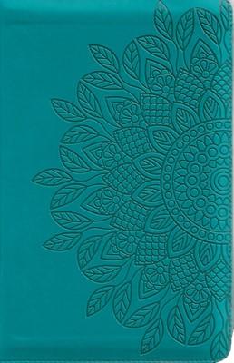 Biblia RVR60 Tamaño Manual (Imitación Piel Aqua) [Biblia]