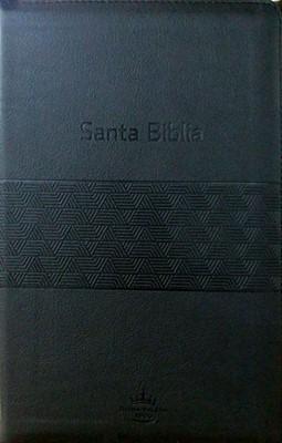Biblia RVR60 Tamaño Manual (Imitación Piel Negra) [Biblia]