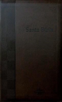 Biblia RVR60 Tamaño Manual (Imitación Piel Café) [Biblia]