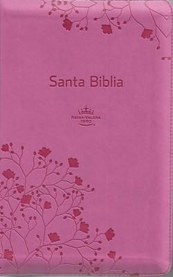 Biblia RVR60 Letra Grande Tamaño Manual (Imitación Piel Rosa) [Biblia]