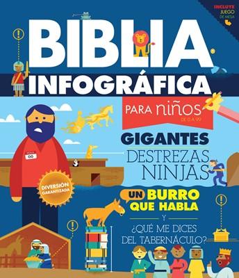 Biblia Infográfica para Niños de 0 a 99 (Tapa Dura) [Libro de Niños]