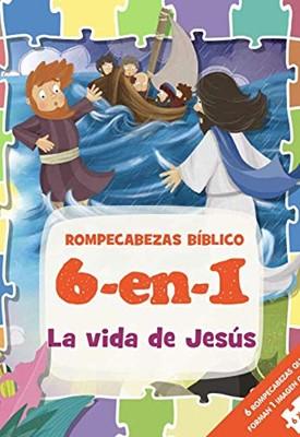 Rompecabezas Bíblico 6 en 1 (Tapa Dura acolchada) [Rompecabezas]
