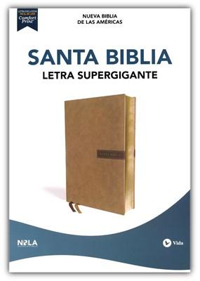 Santa Biblia NBLA (LeatherSoft Beige) [Biblia]
