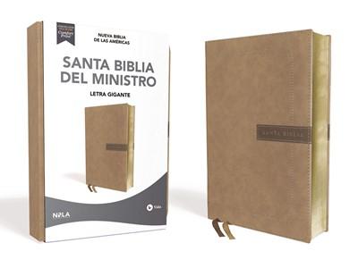 Santa Biblia NBLA Del Ministro (LeatherSoft Beige) [Biblia]