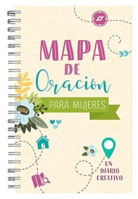 Mapa De Oración Para Mujeres (Rústica) [Diario]