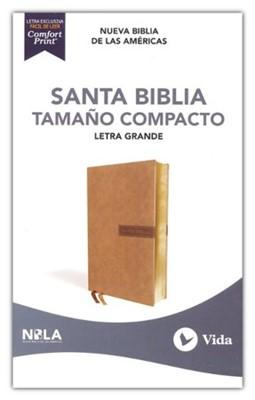 Santa Biblia NBLA (LeatherSoft Beige) [Biblia de Bolsillo]
