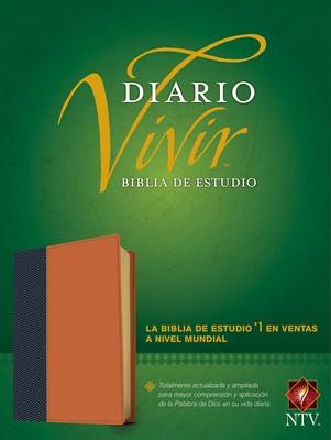 Biblia de Estudio del Diario Vivir NTV (SentiPiel) [Biblia de Estudio]