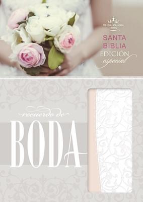 Biblia RVR 1960 Recuerdo de Boda (SimiPiel Blanca Filigrana) [Biblia]