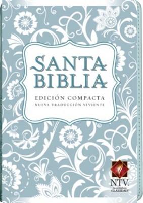 Biblia NTV Edición Compacta (Imitación Piel Azul) [Biblia]
