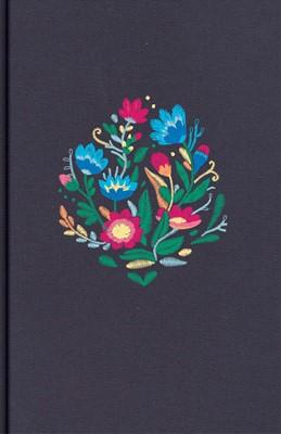 Biblia NVI LSGi Bordado Tela Azul (Tapa Dura ) [Libro de Niños]