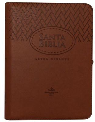 Biblia RVR085cZLGi Cafe Canto Dorado (Imitación Piel Cafe) [Biblia]